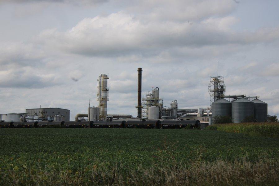 Green Plains ethanol plant near York, Nebraska
